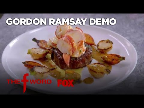 Gordon Ramsay Demonstrates How To Cook Surf And Turf   Season 1 Ep. 11   THE F WORD