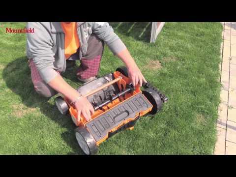 Obnova trávníku není problém s vertikutátorem od Mountfieldu - videotest Českého Kutila
