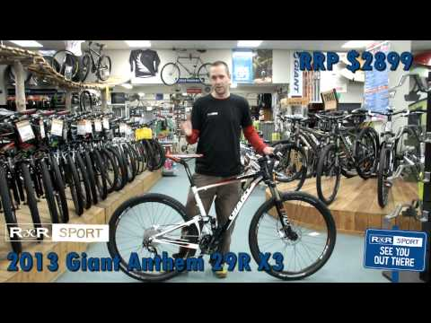 2013 Giant Anthem X 29er 3 Mountain Bike Review