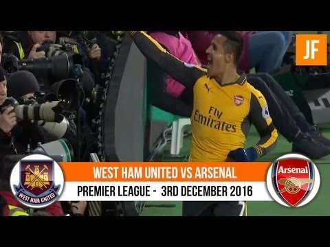 West Ham 1 5 Arsenal  2017  English Commentary HD