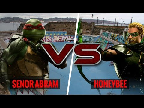 SHOWING OFF MY NEWEST CHARACTER!  SenorAbram (Raphael) vs HoneyBee (Green Arrow)
