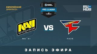 Na`Vi vs FaZe - ESL Pro League S7 EU - de_mirage [ceh9, Enkanis]