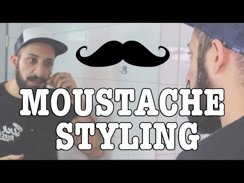 Schnurrbart / Mustache perfekt stylen   How-To by BARTMANN