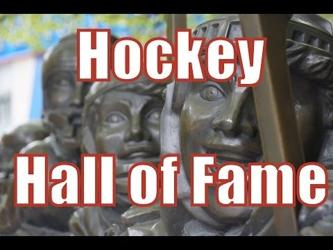 Visiting the Hockey Hall Of Fame in Toronto Canada