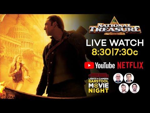 Barstool Movie Night: National Treasure (Netflix)