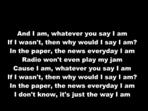 Eminem & Marilyn Manson - The Way I Am (with Lyric
