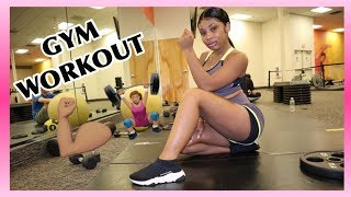 MY MINI GYM ROUTINE  | AALIYAHJAY by Ms Aaliyah Jay