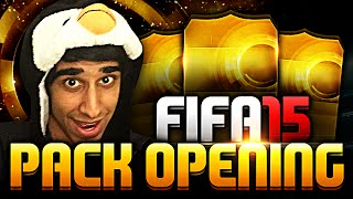 FIFA 15 PACK OPENING - First FIFA 15 Pack Opening with Vikkstar123