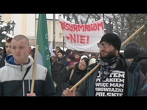 Πολωνία: Διαδήλωση κατά των μεταναστών