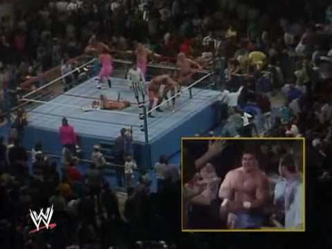 Royal Rumble - The first Royal Rumble match in the history of the World Wrestling Federation. It took place at the year 1988. The textual, photographic, video, audio, and c...