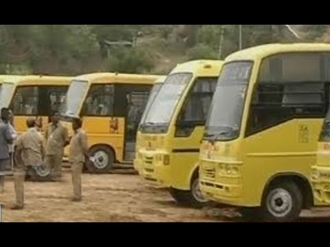 T Govt Alert | RTA raids on School Buses, Buses Seized : TV5 News