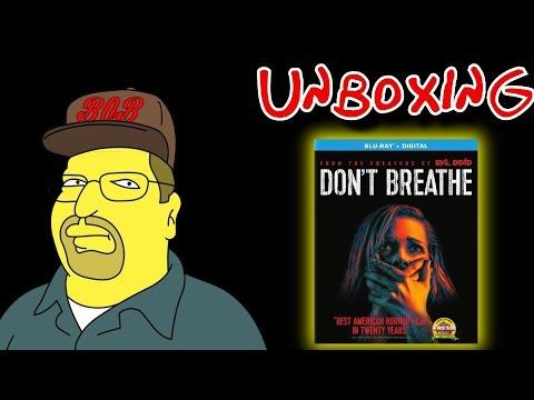 Don't Breathe Blu-Ray/Digital HD Unboxing