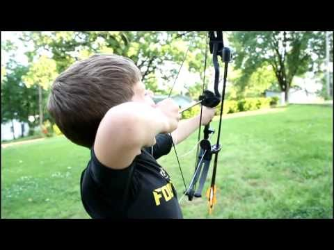 Pulling Tooth With Bow And Arrow - Brave Boy!