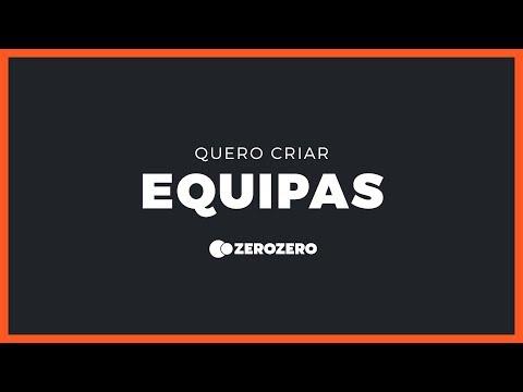 Como criar equipas no zerozero?