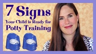 7 Signs Your Child is Ready for Potty Training - YouTube