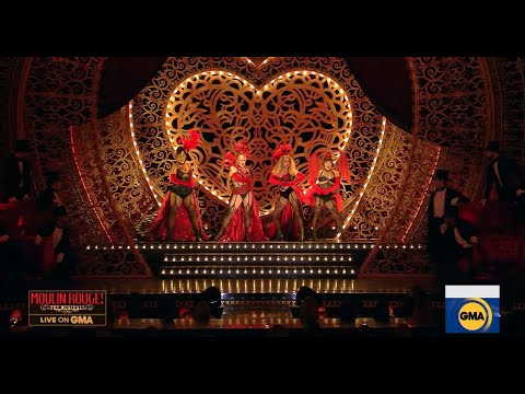 Moulin Rouge! The Musical on Good Morning America