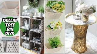 DOLLAR TREE ORGANIZING IDEAS DIY