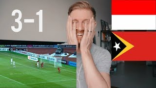 Download Video INDONESIA VS TIMOR LESTE (AFF) 3 - 1  AFF SUZUKI CUP// INDONESIAN FOOTBALL REACTION MP3 3GP MP4