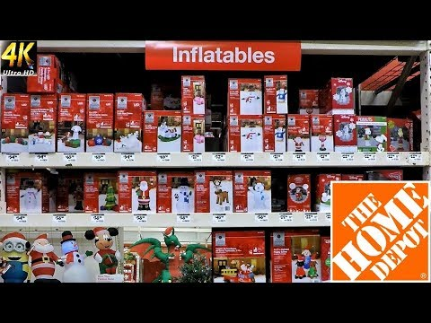 all christmas inflatables at the home depot christmas shopping christmas decorations shop 4k - Home Depot Inflatable Christmas Decorations