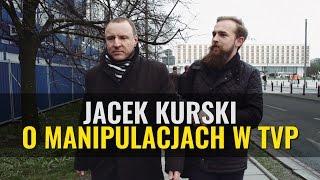 Jacek Kurski o manipulacjach TVP.