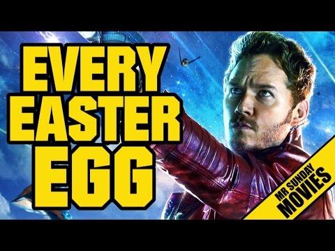 Easter eggy ve Strážcích galaxie