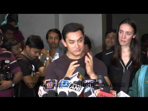 Aamir Khan & Kiran Rao Hosting Special Screening Of Movie After My Garden Grows