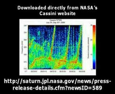 Alien Speech Found In NASA's Saturn Radio Signal