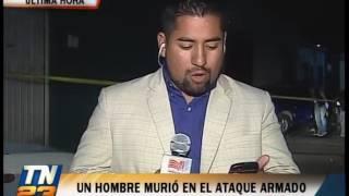 El hecho ocurrió en la zona 6 de Villa Nueva Disparos contra un auto en la zona 6 de Villa Nueva que dejaron como resultado una persona fallecida.