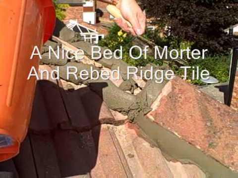 How To Refix Roofing Ridge Tiles