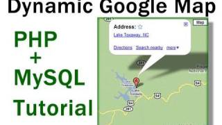 Dynamic Google Maps Location Tutorial For PHP + MySQL Driven Websites