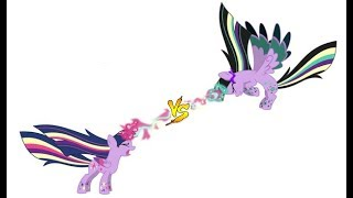 MUGEN (EC): TWILIGHT SPARKLE  vs  TWIVINE SPARKLE (REQUEST)