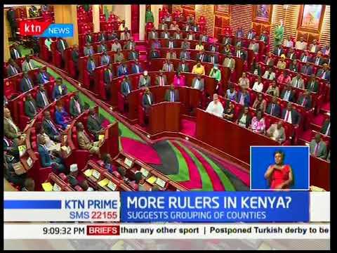 NASA leader Raila Odinga has proposed the establishment of a three tier system of government