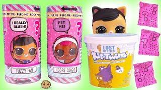 Video LOL Surprise Talking Interactive LIVE Pet Blind Bags + Lost Twin Kitties MP3, 3GP, MP4, WEBM, AVI, FLV Januari 2019