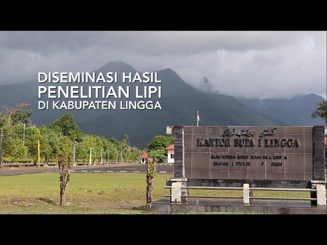 SHORT VIDEO DISEMINASI HASIL PENELITIAN LIPI DI PULAU LINGGA
