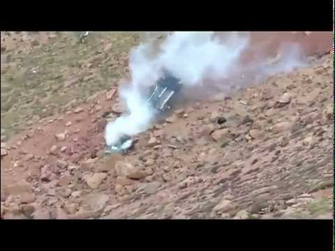 Acidente Horrivel num Rally Americano