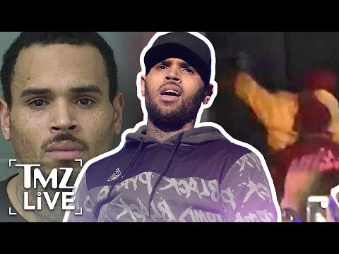 Chris Brown  Cops Set Me Up For Arrest | TMZ Live