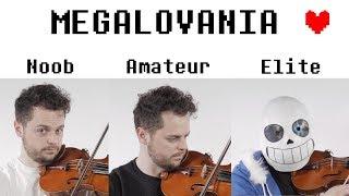 4 Levels of Megalovania: Noob to Elite