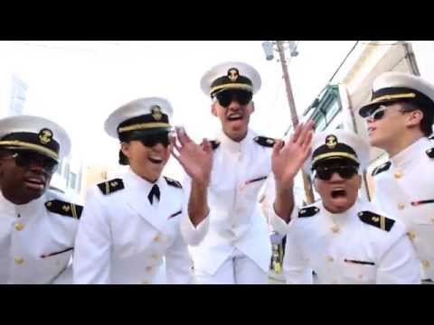 Uptown Funk gets a NAVY makeover! LOVE!