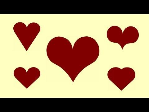 Wie zeichnet man ein Herz mit Zirkel … How to draw a Heart …
