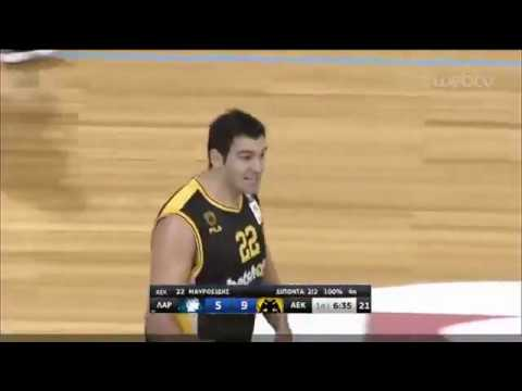 Basket League ΛΑΡΙΣΑ – ΑΕΚ | 21/12/2019 | ΕΡΤ