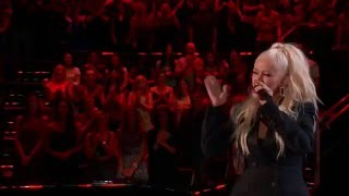 Download Lagu Christina Aguilera - I Put A Spell On You (Live on The Voice 2016 ft. Joe Maye) Mp3