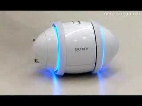 Sony Rolly in Motion – Uncut Demonstration 2007 : DigInfo