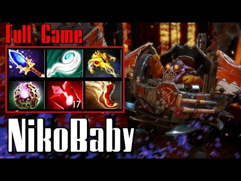 NikoBaby Timbersaw - Dota 2 Full Game (Pub, 7000 MMR)