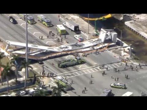 Φλόριντα: Κατέρρευσε πεζογέφυρα-«Αρκετοί νεκροί» λέει η αστυνομία…