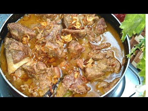গরুর মাংসের কোরমা /সাদা মাংস রান্না রেসিপি |  Best Beef Kurma In Bangla Recipe |