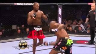 Jon Jones Vs Rampage Jackson highlights