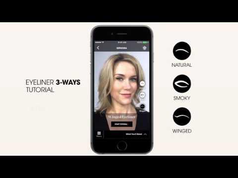 Sephora Virtual Artist, la app especial de maquillaje para mujeres