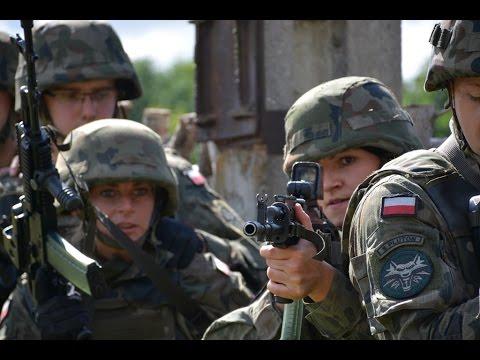 Szkolenie 14 batalionu Ułanów Jazłowieckich - 12 Dywizja Zmechanizowana
