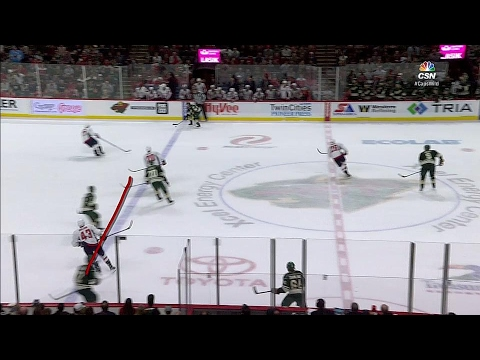 Video: Wild get controversial late equalizer vs Capitals