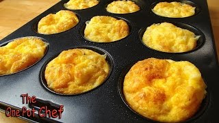 Oven Baked Mini Omelettes are quick to make and sensationally delicious. Eat them immediately, or freeze them for later!